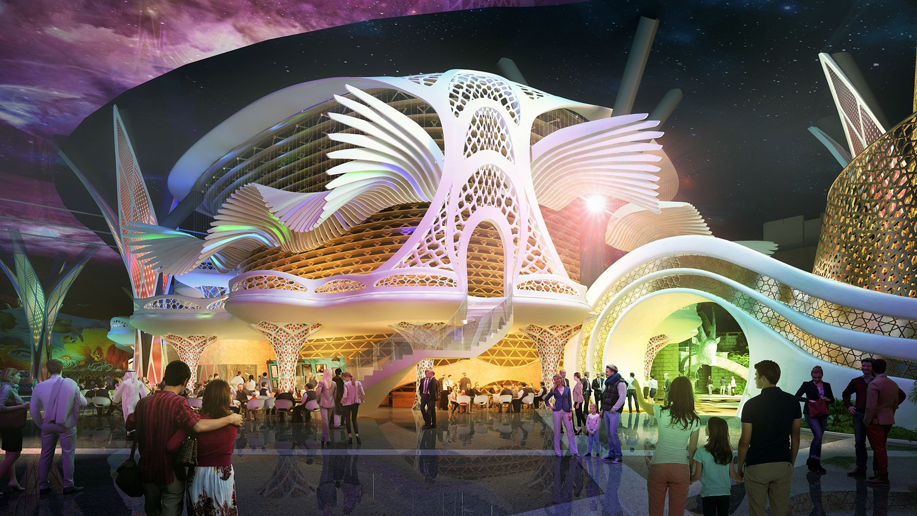 101-Flying-Theater-Exterior-Facade-Render